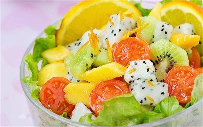 Cách làm salad Trái Cây thập cẩm tươi ngon chống ngấy
