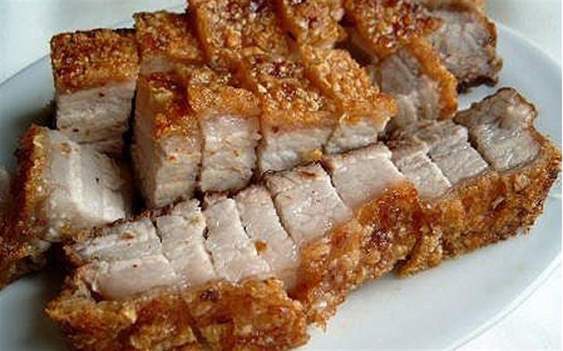 Cách làm Thịt Ba Chỉ Quay giòn ngon như ngoài hàng