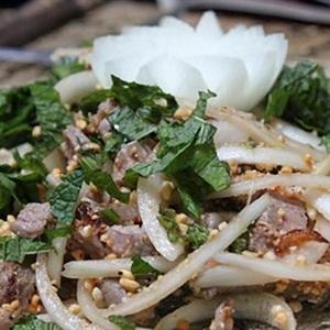 Gỏi thịt bò kiểu Thái