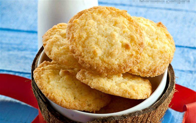 Cách làm Bánh Quy Dừa giòn rụm thơm hương bơ tại nhà