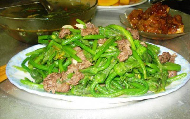 Cách Làm Bông Bí Xào Thịt Bò Bổ Dưỡng, Ngon Cơm