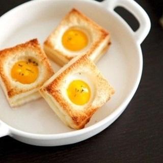 Cách làm bánh mì trứng nướng