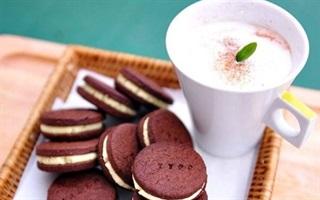 Bánh cacao nhân bơ