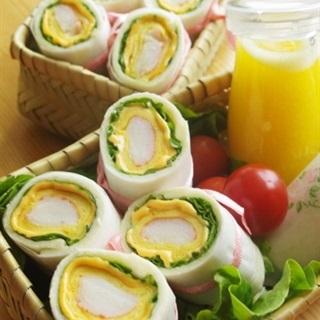 Cách Làm Sandwich Cuộn Kiểu Hàn Ngon, Dễ Mang Theo