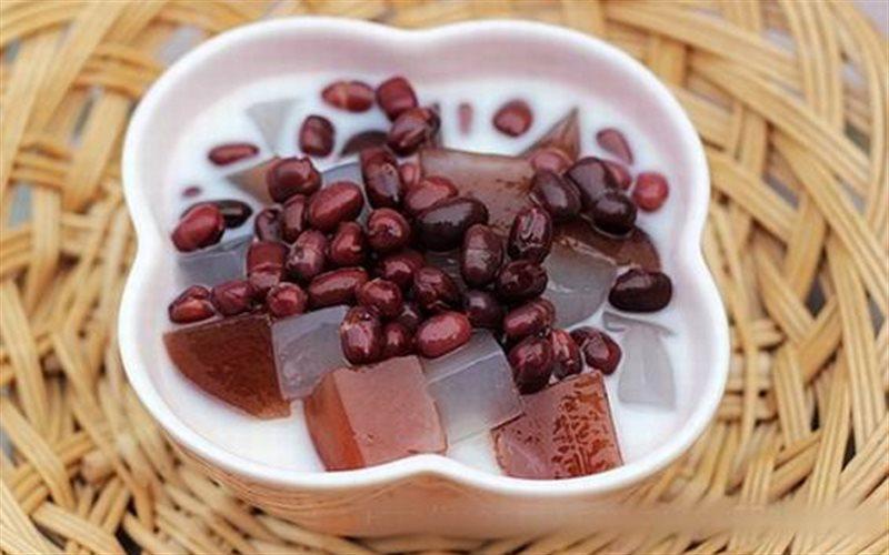 Cách Làm Chè Thạch Đậu Đỏ Nước Cốt Dừa Mát Lạnh