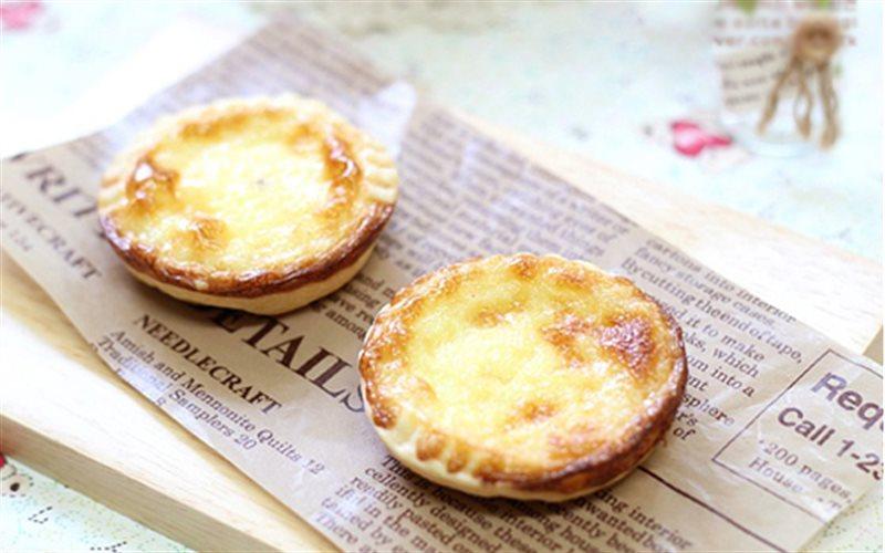 Cách Làm Bánh Tart Trứng Béo Ngậy, Cực Thơm Ngon