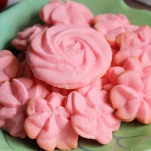 Bánh quy phô mai hình hoa