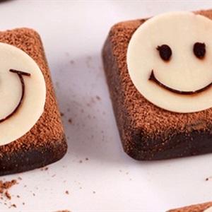 Bánh chocolate hình mặt cười