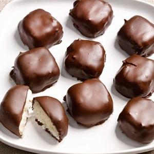Cách làm kẹo dừa chocolate