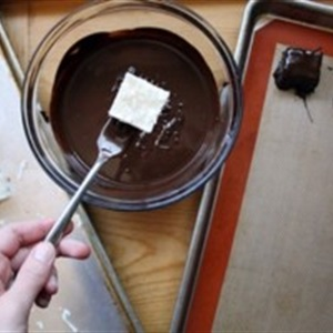 Kẹo dừa chocolate