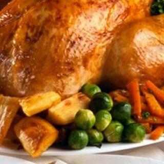 Cách làm Gà Tây Nướng rau củ cho ngày lễ Giáng Sinh