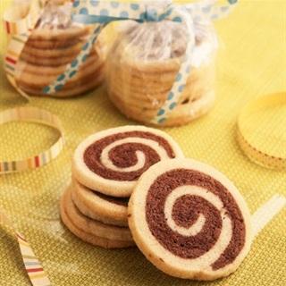Cách Làm Bánh Quy Pinwheel Cookies Ăn Giòn Tan