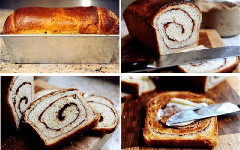 Cách Làm Bánh Mì Gối Nhân Nho Cho Cả Tuần Đủ Chất