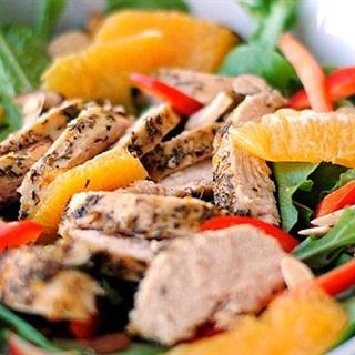 Cách làm salad gà và quýt
