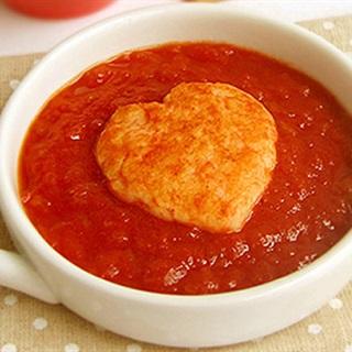 Súp tôm sốt cà chua