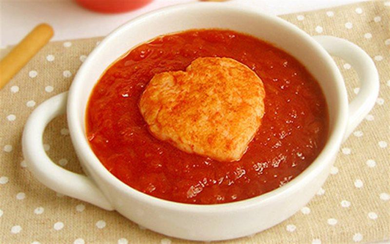 Cách làm súp tôm sốt cà chua