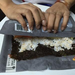 Cơm cuộn rong biển