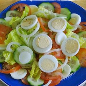 Salad tổng hợp trộn dầu giấm