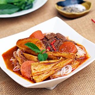 Cách làm Bò Kho Chay cùng cà rốt, nước dừa thơm ngon