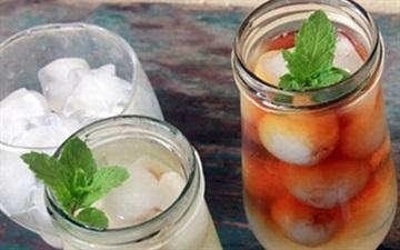 Làm trà trái cây giải nhiệt ngày nắng