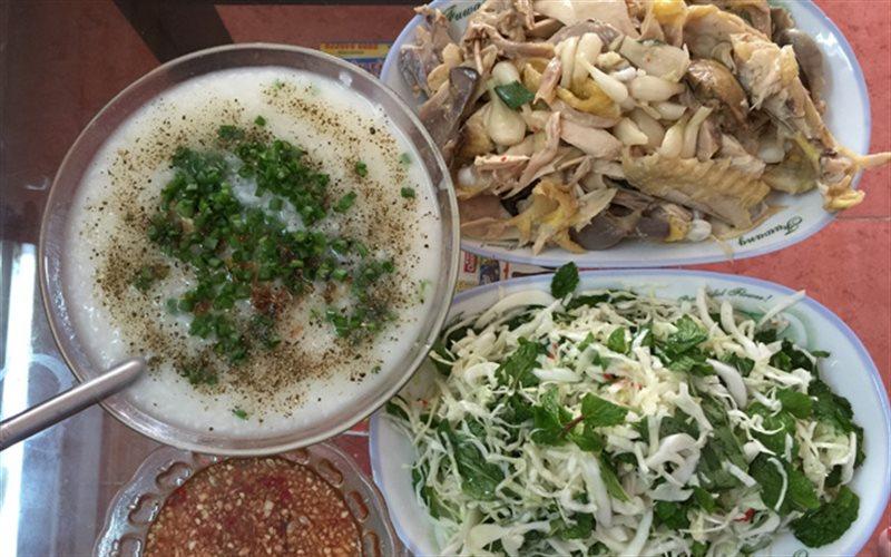 Cách làm Gỏi Gà Xé Phay ăn kèm bắp cải và cháo hấp dẫn