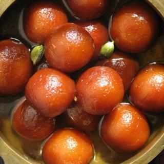 Bánh hoa hồng - Gulab jamun