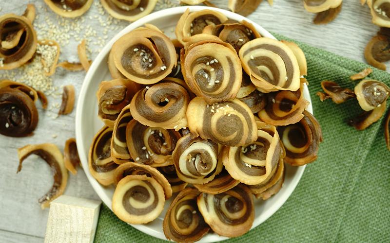 Cách làm Bánh tai heo - Pig's Ear Cookies
