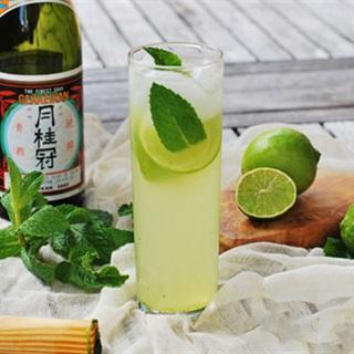 Cách pha chế cocktail rượu sake