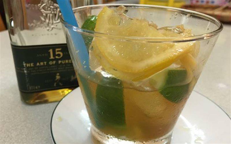 Cách pha chế cocktail chanh đường