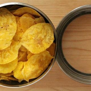 Cách làm snack trái chuối