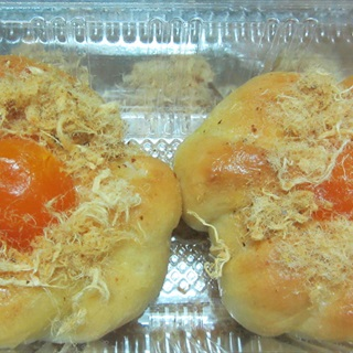 Cách làm bánh mì mặn trứng muối