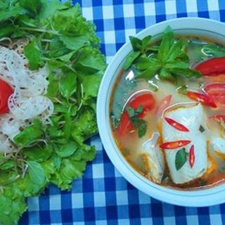Cách làm canh cá khoai nấu chua