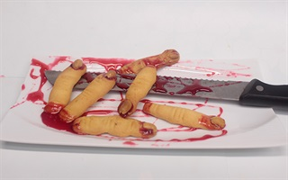Bánh ngón tay cho halloween