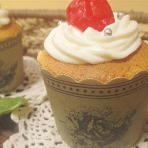 Cupcake nhân kem chanh dây