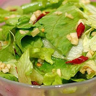 Cách làm salad xà lách trộn