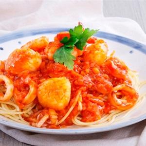 Spaghetti sốt hải sản