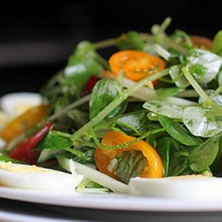 Cách làm salad rau càng cua