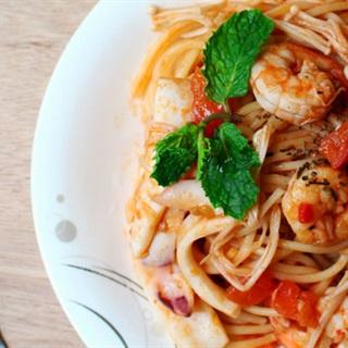 Cách làm spaghetti hải sản