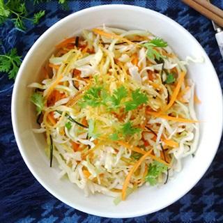 Cách làm Salad Rau Củ với mè trắng thơm ngon, thanh mát