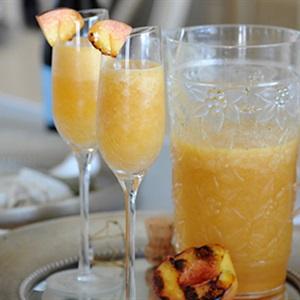 Cocktail đào nướng