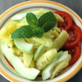 Cách làm salad thơm ổi