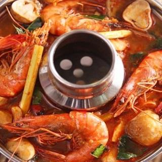 Cách nấu lẩu tôm chua cay