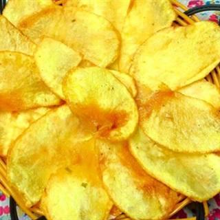 Cách làm bim bim khoai tây chiên giòn