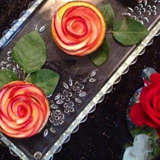 Cách làm bánh tart táo hoa hồng