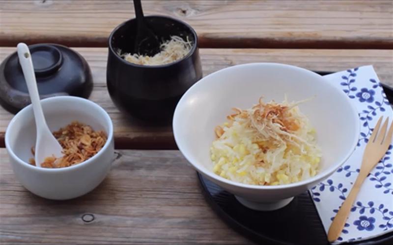 cách nấu xôi bằng nồi cơm điện