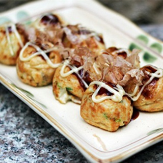 Cách làm bánh bạch tuộc nướng kiểu Nhật