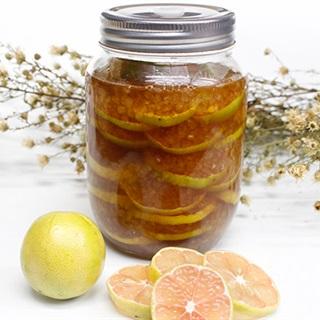 Cách làm chanh đào mật ong chữa ho