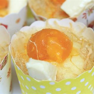 Cách Làm Bánh Bông Lan Trứng Muối Hấp   Thơm Ngon
