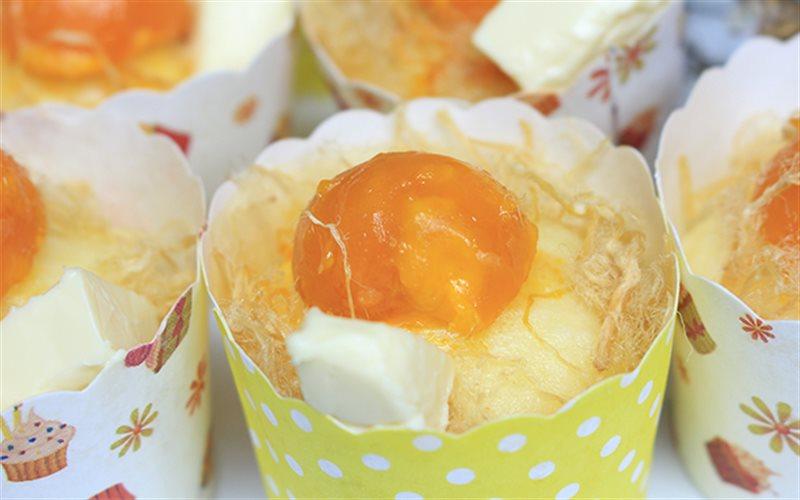 Cách Làm Bánh Bông Lan Trứng Muối Hấp | Thơm Ngon