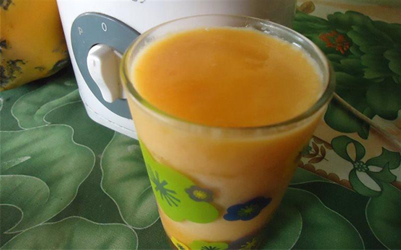 Cách làm sinh tố đu đủ sữa tươi mật ong